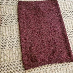 BCBGeneration Skirts - BCBG Generation – LT. Wine Knit Tube Mini Skirt